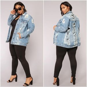 Krissy Oversized Denim Jacket